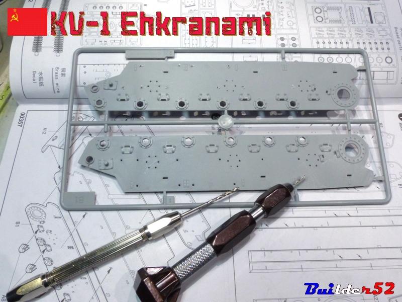 KV-1 Ehkranami  -  TRUMPETER 1/35 623841P1030081