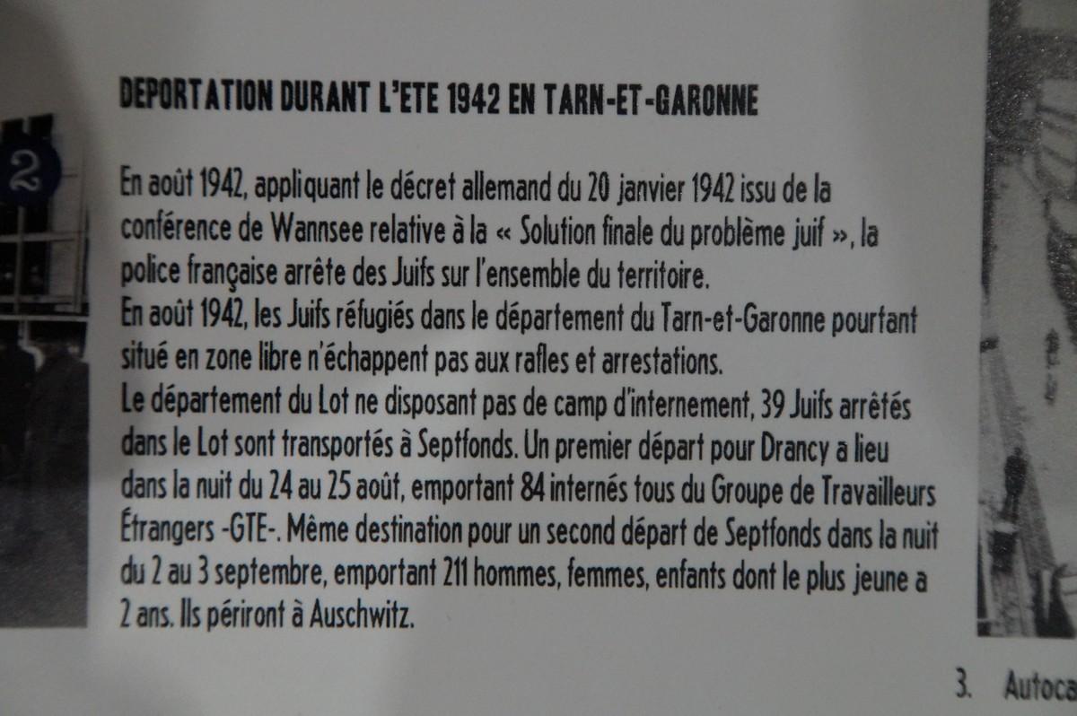 [ Histoire et histoires ] Musée de la résistance et du combattant à Montauban 624531DSC07540