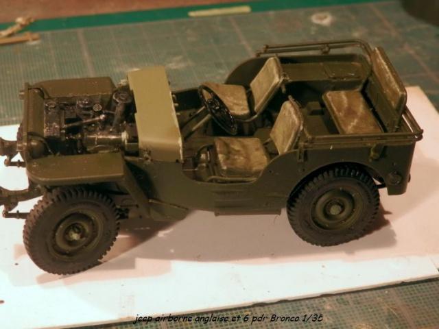 6 pdr ,jeep ,équipage airborne Bronco 1/35 (sur la route de Ouistreham) 625683P5030421