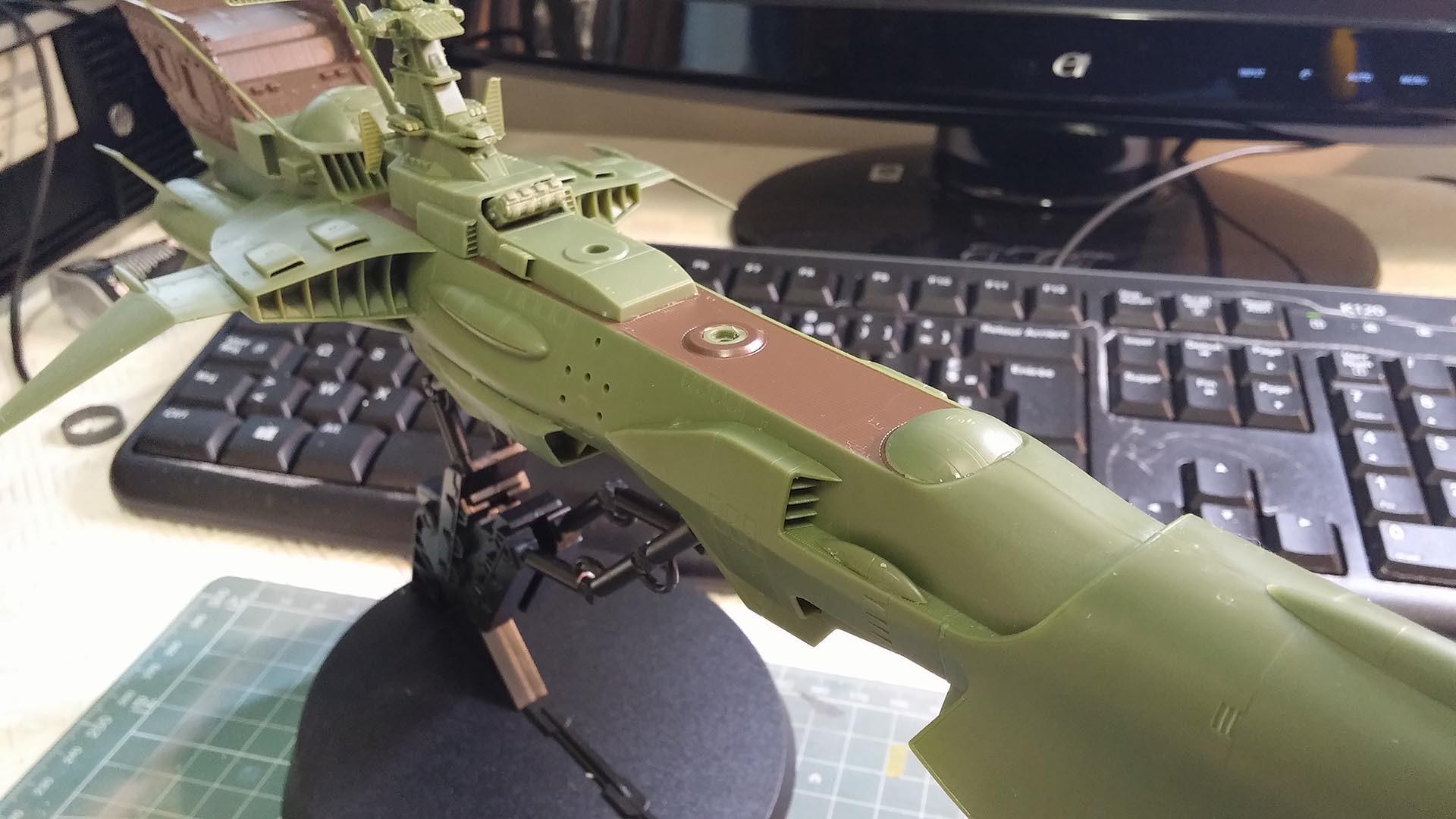 Arcadia (Albator) 1/1500 Hasegawa 626788ARCADIA20