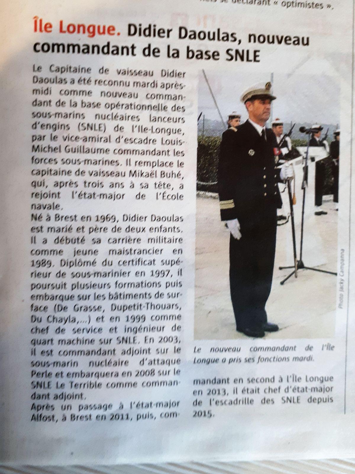 [Les bases de sous-marins] ILE LONGUE - Page 5 62692420170907113704