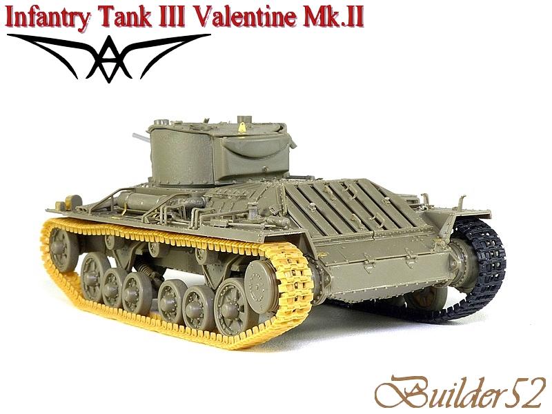Infantry Tank III Valentine Mk.II - AFV CLUB 1/35 627496P1050409