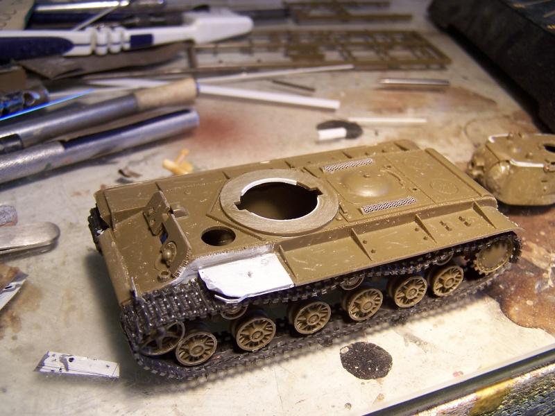 """""""Le duel"""" KV1c vs Panzergrenadiere Russie 1942 (terminé) 6276941005476"""