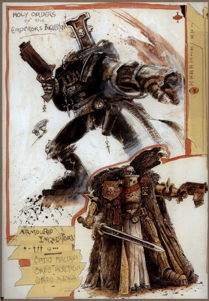 La Volonté de l'Empereur de John Blanche (Art Book) - Page 2 629000Blanche10
