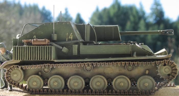SU 76M  Miniart 1/35 630138modles123012