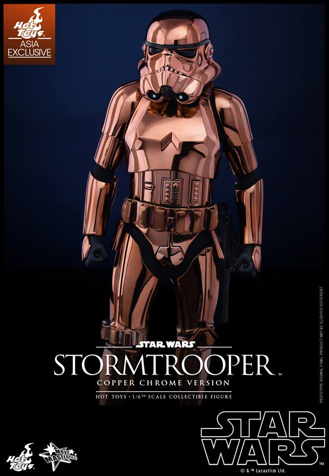 HOT TOYS - Star Wars: TFA - Stormtrooper Copper Chrome 630454106