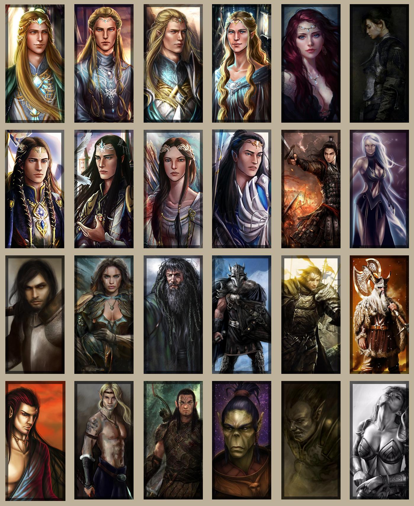 Galerie d'avatars - Inspiration et idées de personnage 631579avatars5