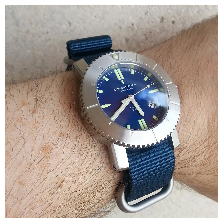Feu de vos montres sur Nato 631586OMPradata