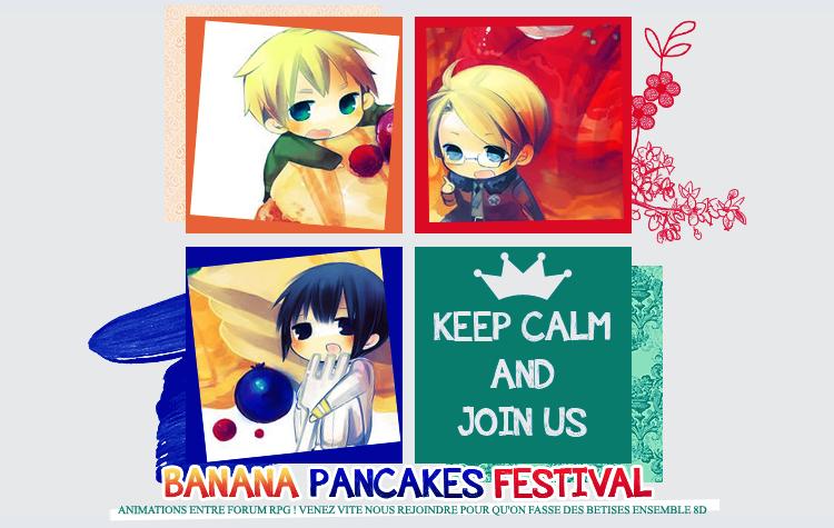 Banana Pancakes Festival
