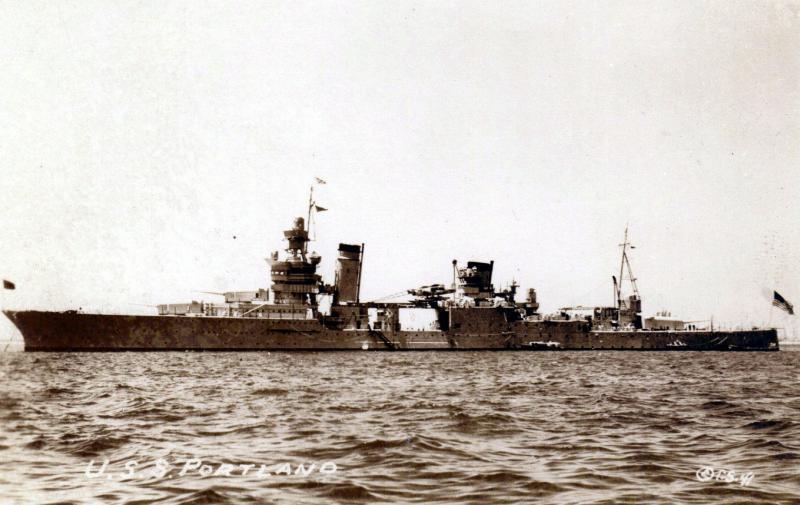 USN CROISEUR LOURD USS WICHITA 632731USSPortland