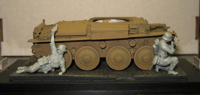 panzer Kpfw 38 t ausf F Tristar 1/35 633116modles109007
