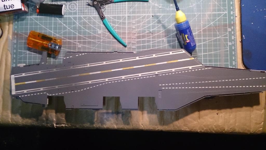 USS Theodore ROOSEVELT CVN-71 [Trumpeter 1/700] 633706cvn7111