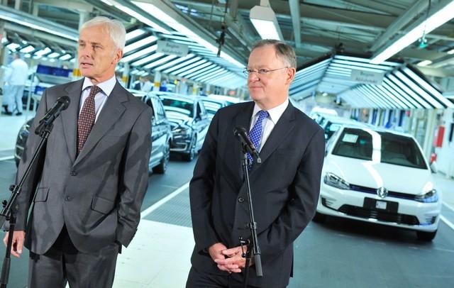 Visite de Stephan Weil, Premier Ministre, à l'usine Volkswagen de Wolfsburg  634725thddb2015al03825large