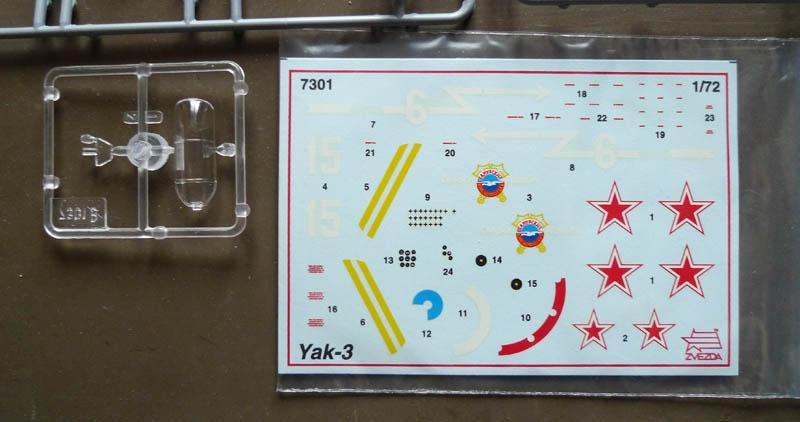 "[Chrono Mai 2013] Zvezda - Yakovlev Yak 3 du ""NeuNeu"". 635011Yak304"