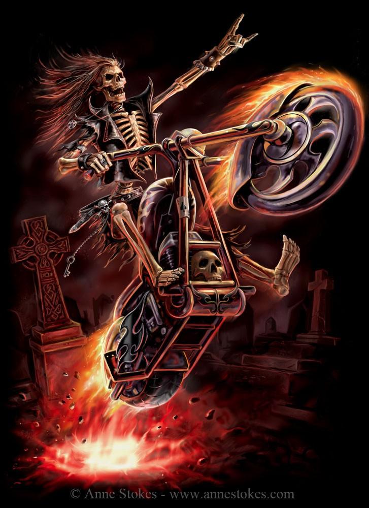 DESSINS - Skulls... 637221Hellrider