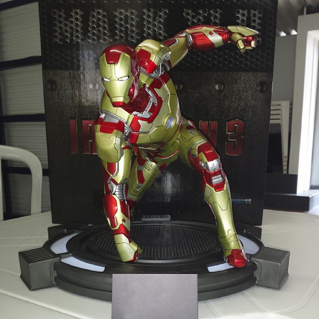 [Iron Studios] Iron Man 3: Mark XLII Legacy Replica 1/4 scale - Página 39 637241iron