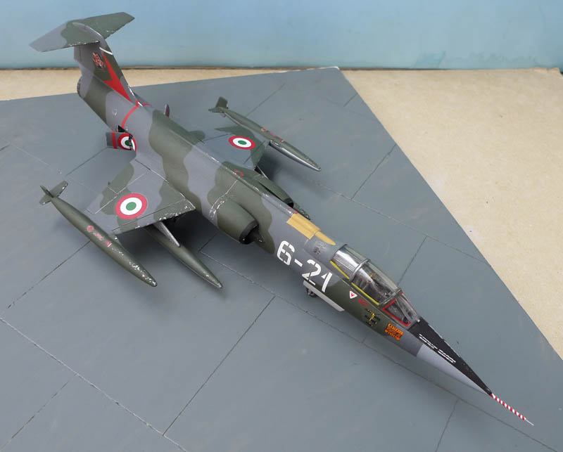 [Heller] - F 104 Starfighter à la sauce italienne. 637785F10406