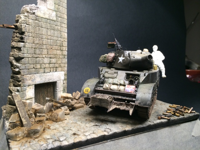"""Le laxatif"" - M8 Howitzer unité ""Hell on Wheels"" - 2nd Armored division, Normandie - Tamiya 1/35 638693IMG3476"