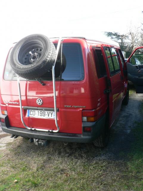 Portes roue de secours, home made  639245P1110445