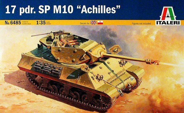 Achilles Tank Destroyer - Academy-Italeri + RB Model + set Blast 1/35 639316101859b