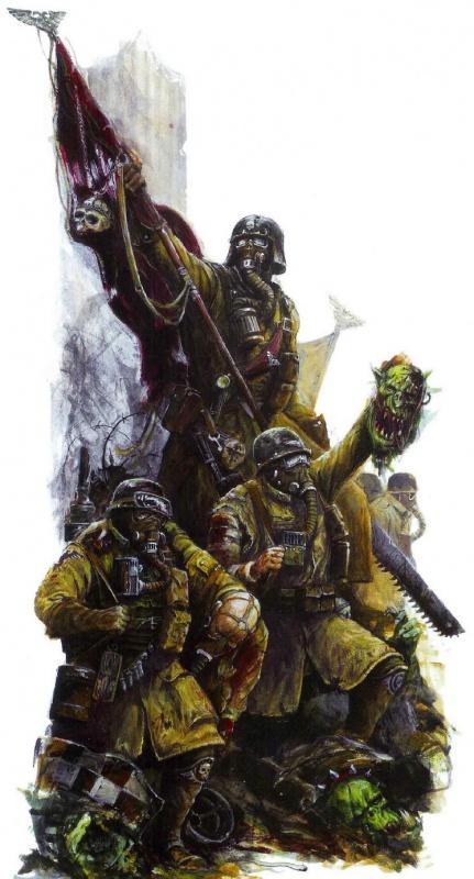 [W40K] Collection d'images : La Garde Impériale 639525ArmageddonSteelLegionTroopers