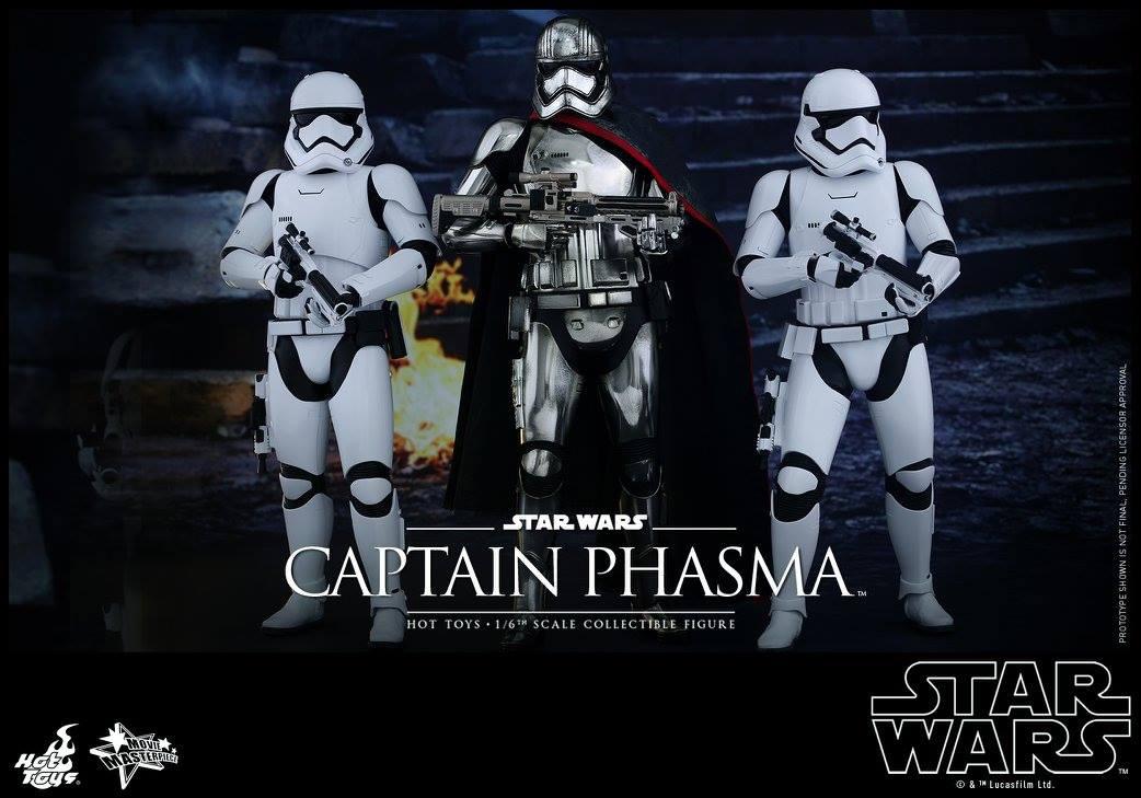 HOT TOYS - Star Wars: TFA - Captain Phasma 639918117