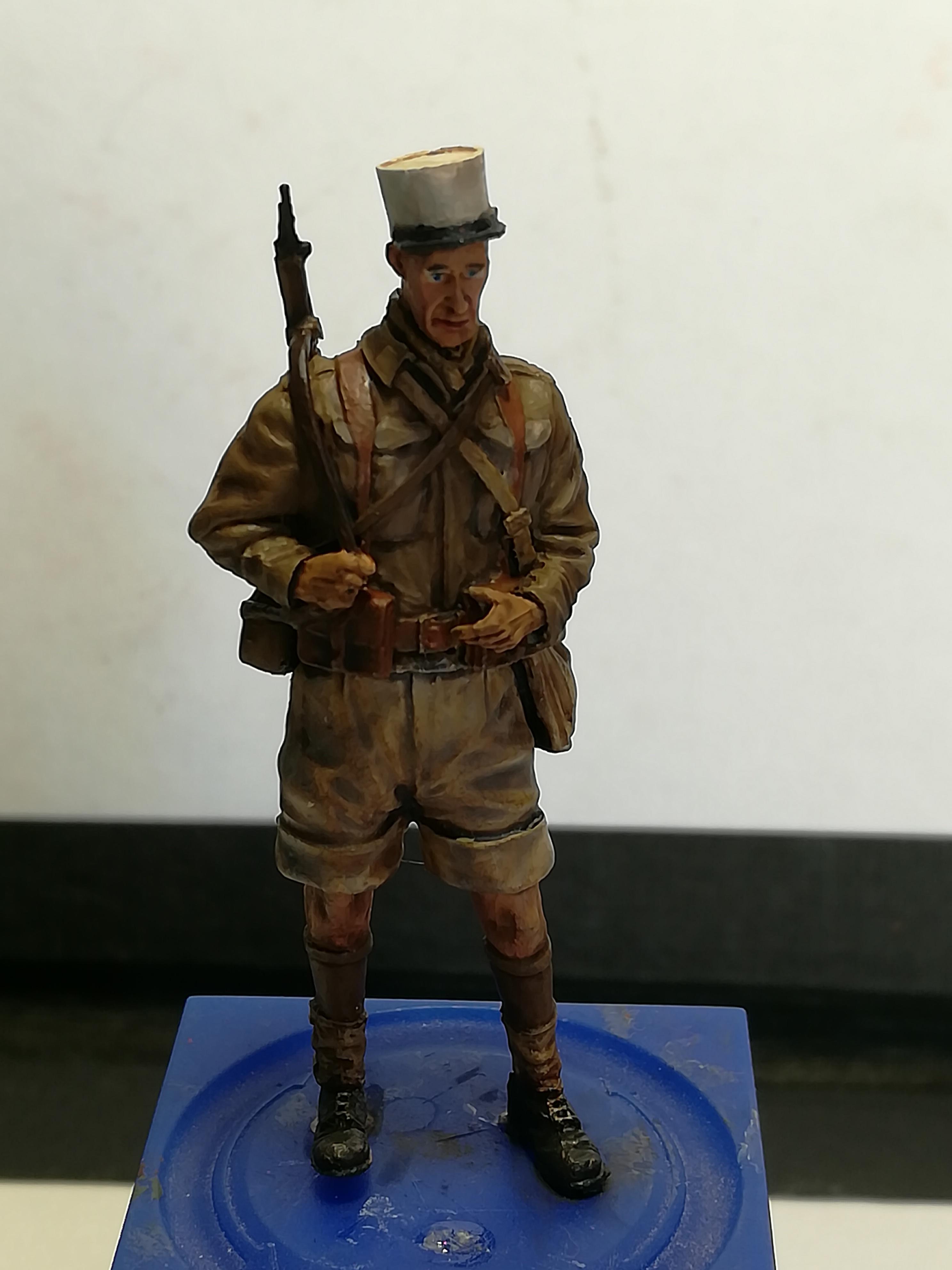 Les frères ennemis, Bir Hakeim, Libye, 1942 - Figurines Steelmasters 1/35 640973IMG20170904172414