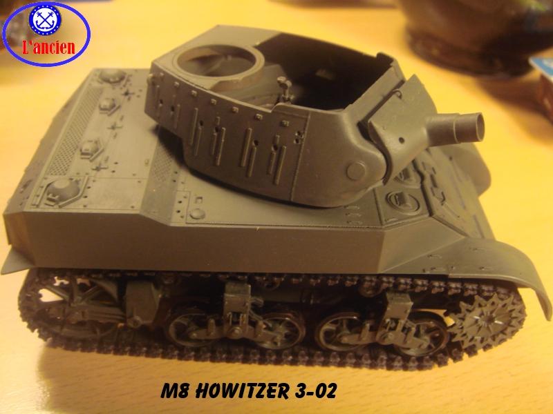 M8 US Howitzer  au 1/35 par l'ancien 641237m8302