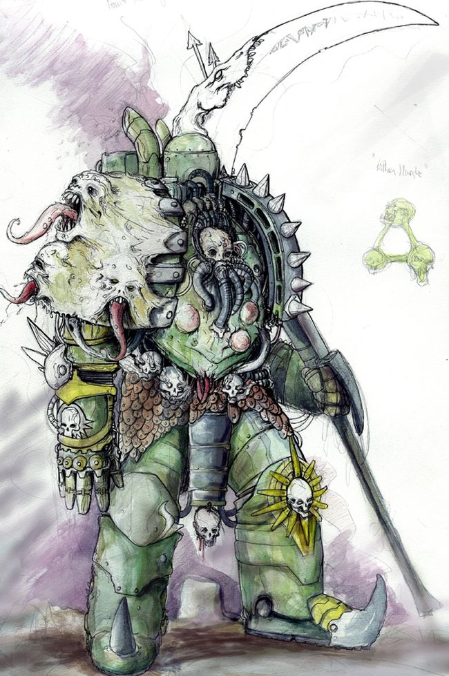 [W30K] Collections d'images : Les Primarques - Page 3 641825Mortarion2