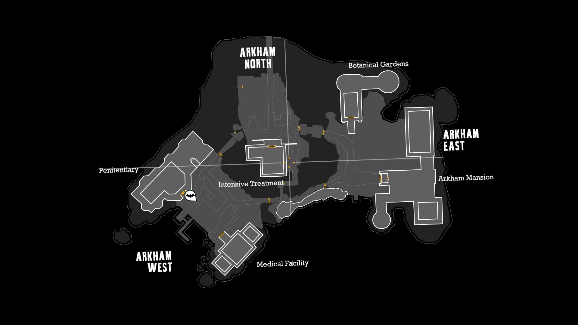 Descriptif : Asile d'Arkham 642247ArkhamMap