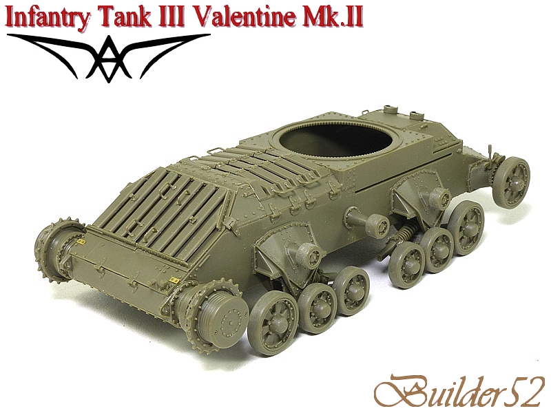 Infantry Tank III Valentine Mk.II - AFV CLUB 1/35 642670P1050394