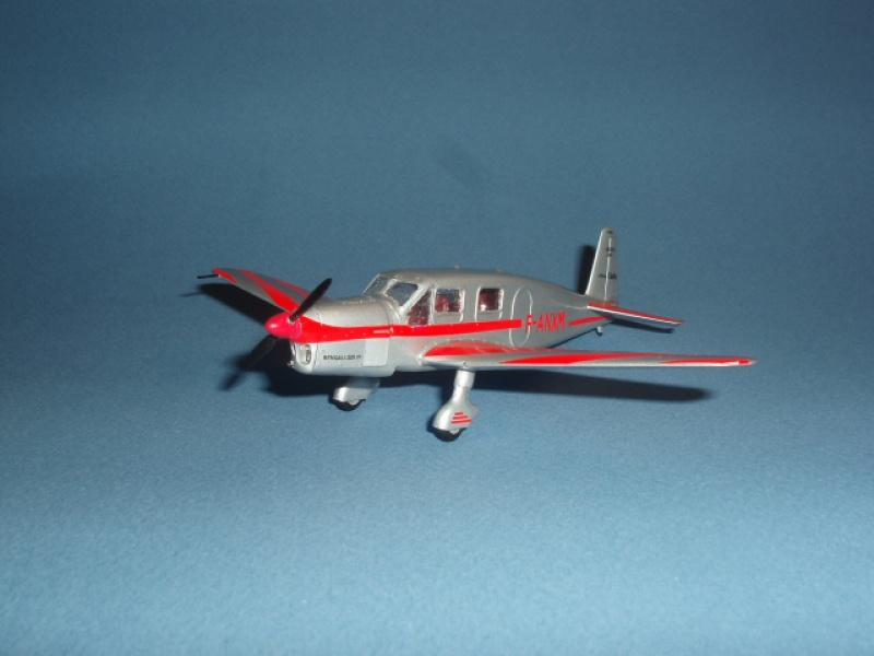 CAUDRON C-635 Simoun  (version Raid Paris-Tokyo). 1937  Heller 1/72. 644063caudronraid006