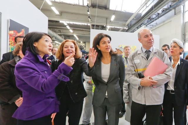 L'entreprise à l'œuvre : l'usine de Flins expose « les constructeurs » de Fernand Léger 6440916317516