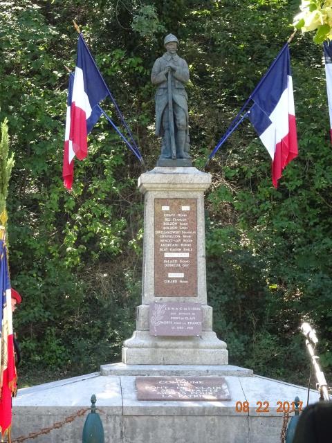 Chocs parachutés , libération Pont de Claix , Grenoble Août 1944 644471DSC01259min