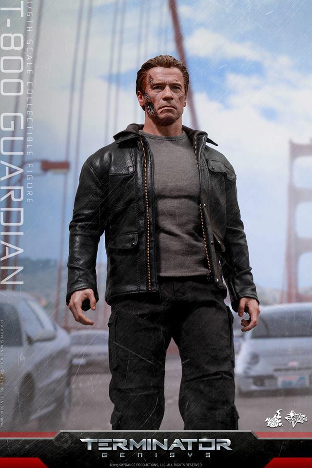 HOT TOYS - Terminator Genisys - T-800 Guardian 645060108