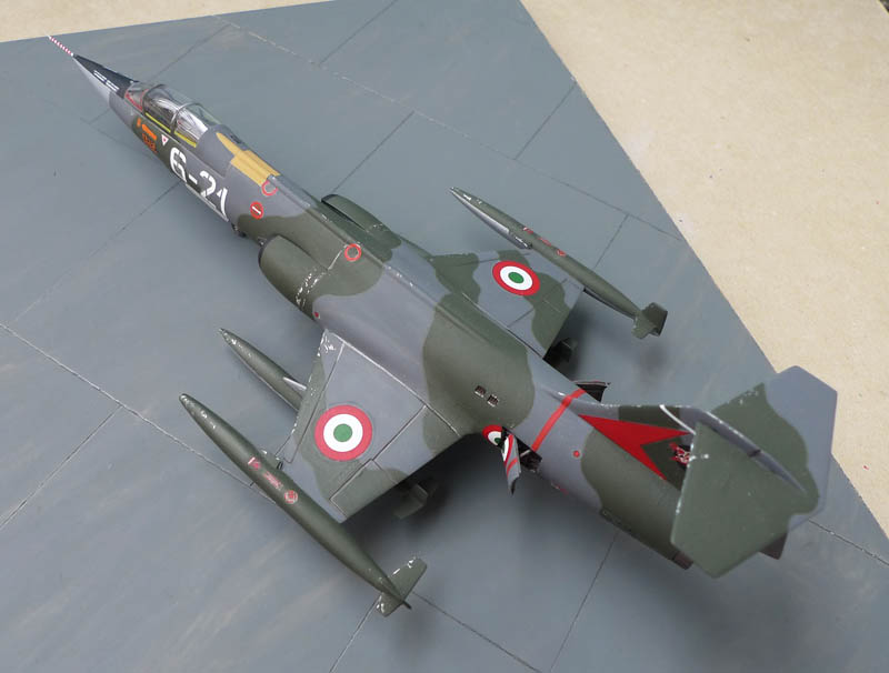 [Heller] - F 104 Starfighter à la sauce italienne. 645830F10403