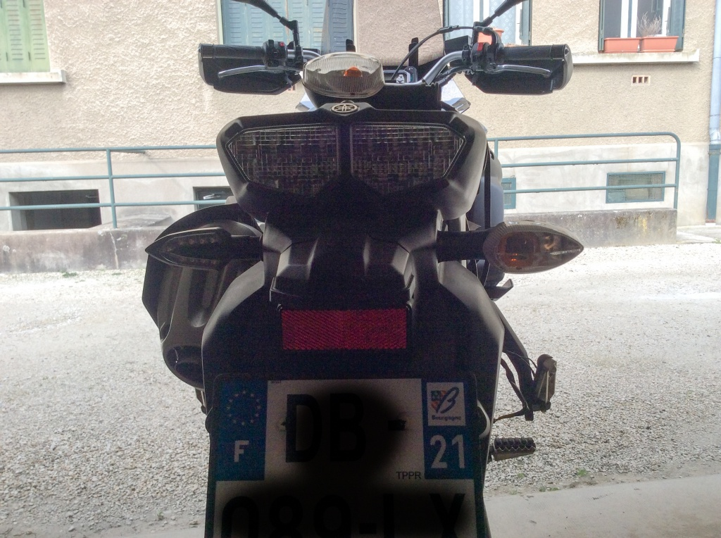 Montage clignotants led Yamaha 646884IMG00182