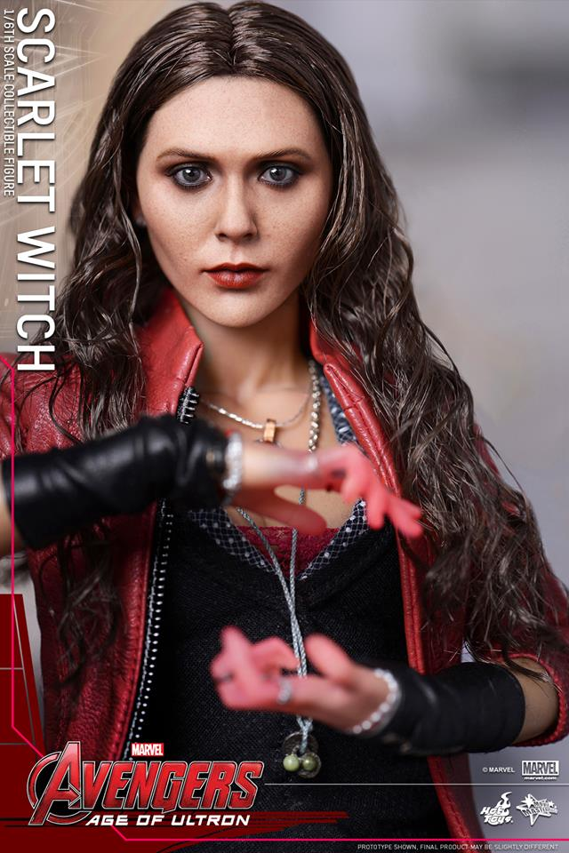 HOT TOYS - Avengers: Age of Ultron - Scarlet Witch 649206106