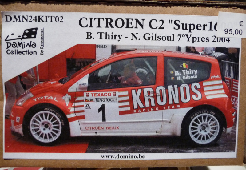 Citroën C2 S 1600 Bruno Thiry 651192P1040480