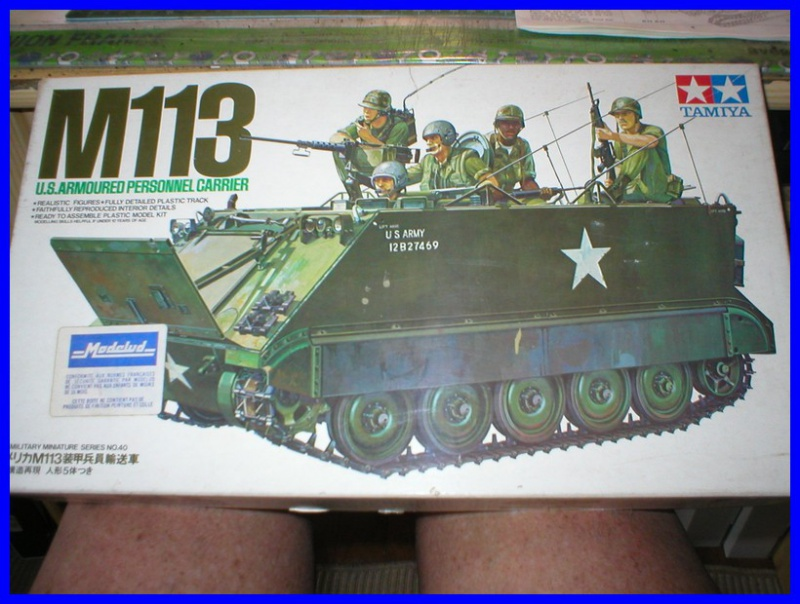 M 113 US ARMOURED PERSONNEL CARRIER 1/35 TAMIYA 652776100800x600