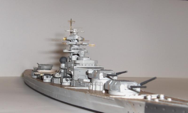 Bismarck 1/700 [Trumpeter] 653569HPIM2008