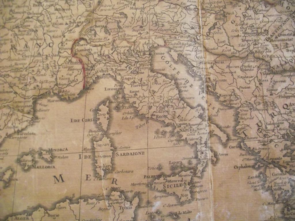 carte de l'Italie en 1759 653609DSCF2282