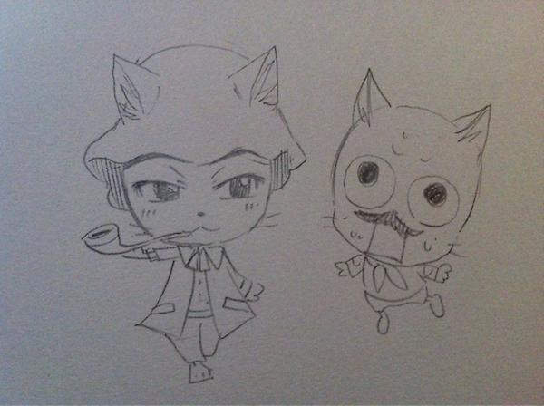 Les dessins de Mashima-Sensei ! :D 654593A0qSBuCYAAKixF