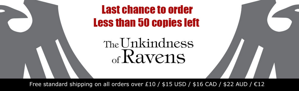 The Unkindness of Ravens de George Mann - Page 2 655374ravenssoldout50