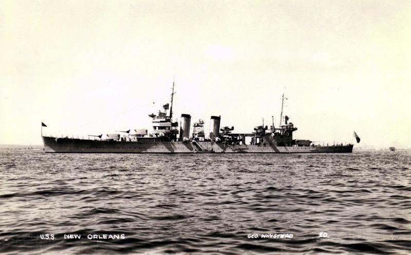 USN CROISEUR LOURD USS WICHITA 655409USSNewOrleans2