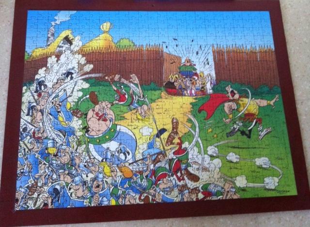 [Vente] puzzles, lot pièces échec asterix 655679anniv
