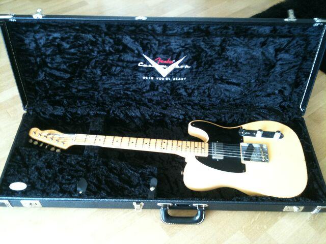 "Fender Custom Shop Telecaster 52 HB Relic ""Time Series"" 656035Teleincase"