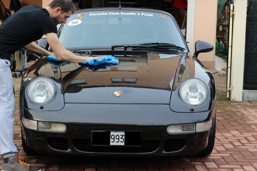 PORSCHE 993 Cabrio - Preparazione interna/esterna 6560560943