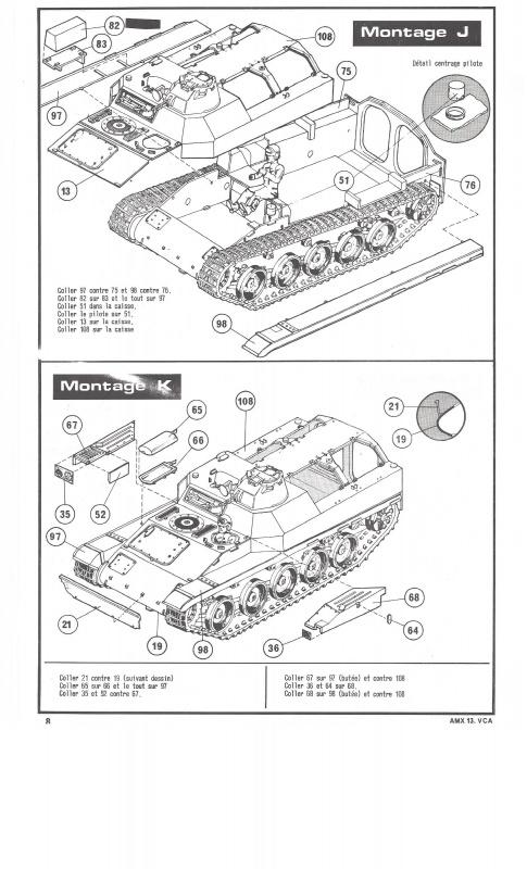 AMX 13 VCA - (Réf. L786) 1/35  656076VCA008