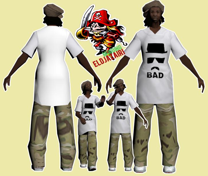 (Show) bad t-shirt 656203badskin